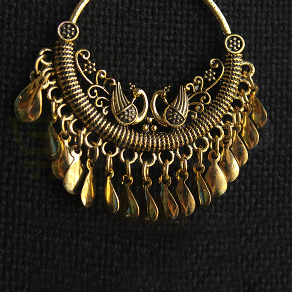 keep-Antique Chand Baali Golden