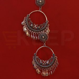 keep-Antique Chand Baali Silver