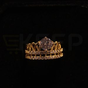 keep-Crown Crystal Ring
