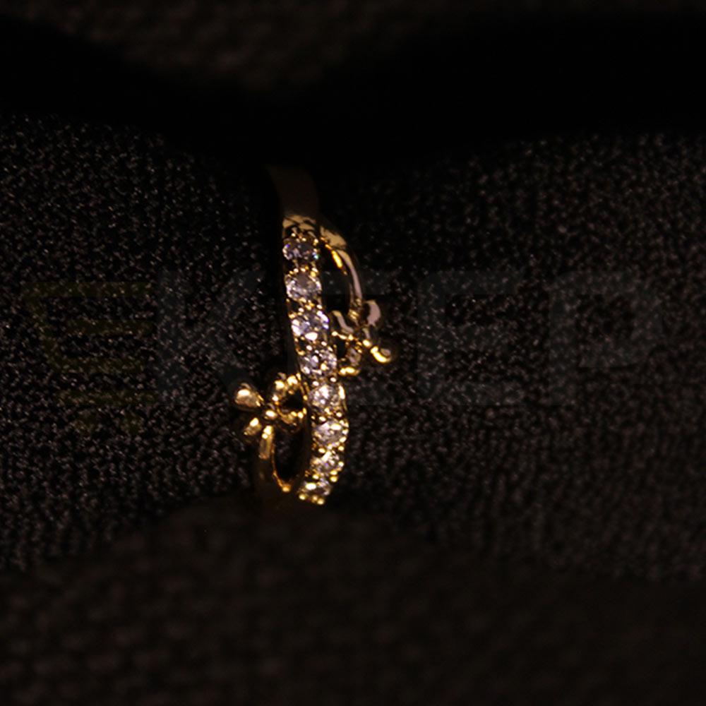 keep-Floral touch Ring