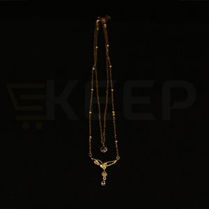 keep-Golden Heart Double Locket