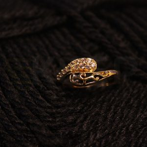keep-Simple Knot Ring