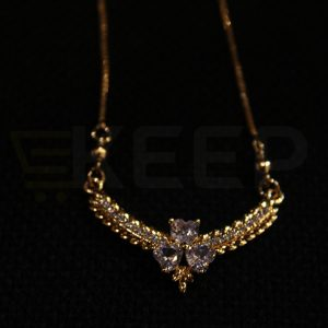 keep-Floral jewel locket